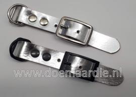 Adapter 20 mm, metallic zilver