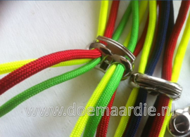 Metalen cord locker, stopper met 2 gaten.