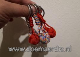 Monkey fist mini rood, 21 mm.