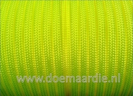 Paracord 550 Ultra Yellow 6 / 15 / 30 meter.