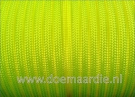 Paracord 550 Ultra Yellow vanaf 27 cent per meter.