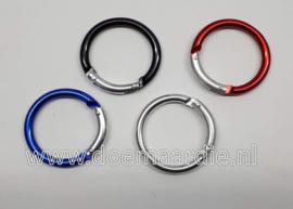 Sleutelhanger ring rond