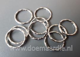 Sleutelhanger ring. Gepatenteerd. binnen 21 mm.