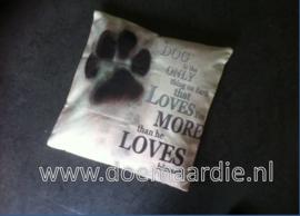 Sierkussen sloop, love of your dog.