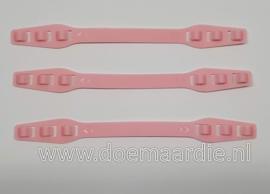 Ear saver strips, verstelbaar. Roze