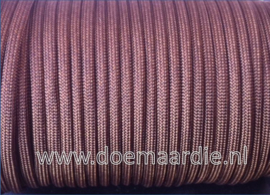 Paracord, 100, type l, Walnut Brown 6 / 15 / 30 meter