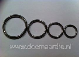 O ring, RVS binnenmaat 15 mm 3,0 mm. Vanaf 24 cent per stuk.