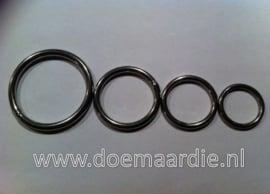 O ring, RVS binnenmaat 25 mm 4 mm. Vanaf  45 cent