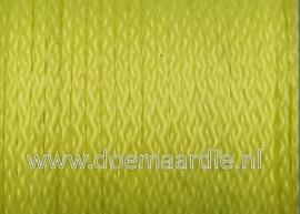 PP gevlochten multi koord, fel geel 3 mm, 50 meter