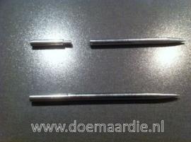 Paracord naald, deelbaar, binnen 2,7 mm, buiten 5 mm. type 2.
