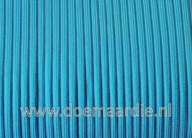 Paracord 550 Caribbean  Blue, vanaf 29 cent per meter.