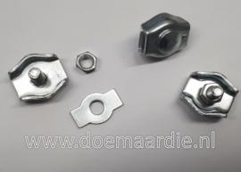 Simplex draadklem, 4 mm