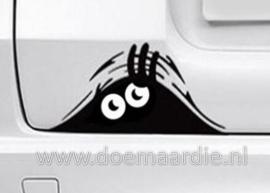 Monster auto sticker.