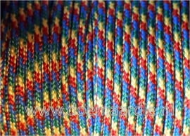 Paracord, 100, type l, Autism awareness.  6 / 15 / 30 meter.