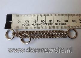 Sprenger triangel ketting, met O ringen. klein.