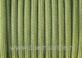 Paracord 550 Green pepper, vanaf 27 cent per meter. ong RAL 6025