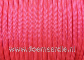 Paracord 550 Hot Pink, vanaf 27 cent per meter.