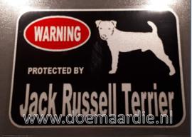 Warning, Jack Russel.