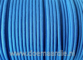 Paracord, 550 type 3,  Blue, vanaf 27 cent, ong RAL 5015