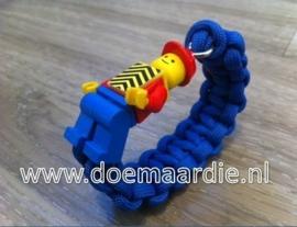 paracord lego armband