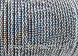 Turquoise silver diamond, vanaf 27 cent per meter.