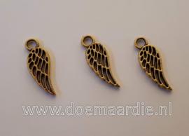Vleugel, oud goudkleur, per 10