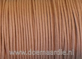 Paracord 550 Brown chocolat, vanaf 29 cent per meter.