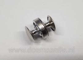 Magnetische drukknoop, zilverkleur
