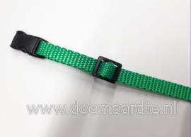 Webbing groen, 50 meter 10 mm