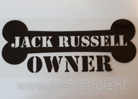 Jack Russel owner.
