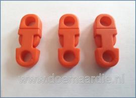 Plastic Breakaway Buckle, oranje.