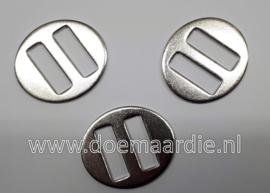 Ovale halsterring, stegring.  26 mm doorvoer