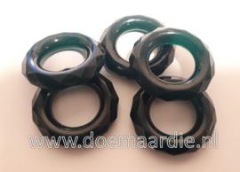 Groene ringen. per 10