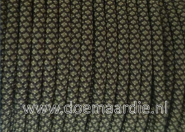 Paracord 550 Light Army Green diamond, vanaf 29 cent per meter.