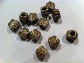 Pootje, bedel, brons, nmr 20.