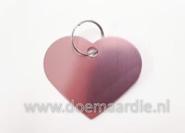 Penning roze, hart
