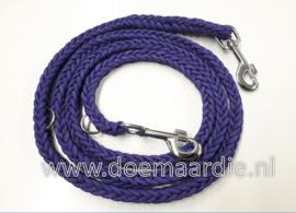 8 strand paracord verstelbare lijn, mixed purple.