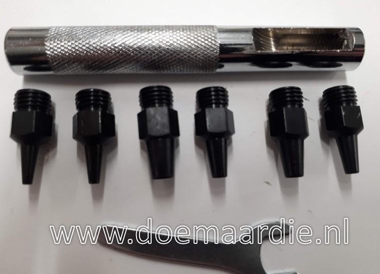 Los kopje voor gaatjes maker setje, 3,9 mm
