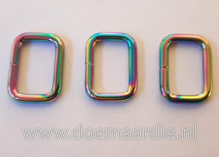 Rechthoekige ring, Fuel, gelast. 30 mm.