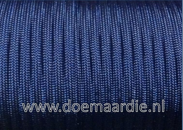 Paracord, 100, type l, Midnight Blue, 6 / 15 / 30 meter.