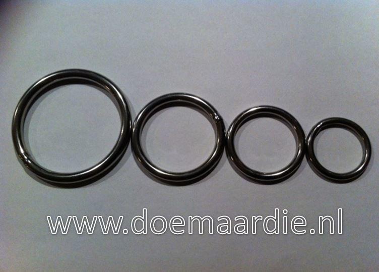 O ring, RVS binnenmaat 25 mm 3,5 mm