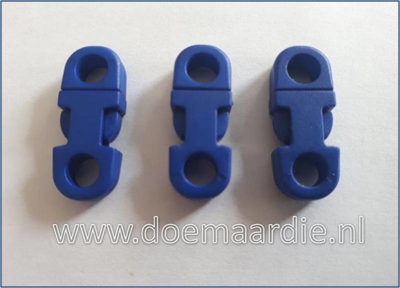 Plastic Breakaway Buckle, blauw.