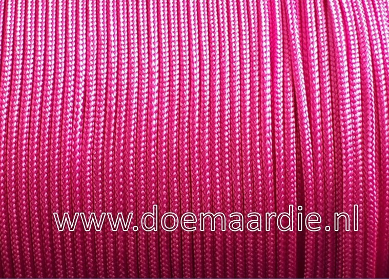 Paracord, 100, type l, Passion Pink, 6 / 15 / 30 meter