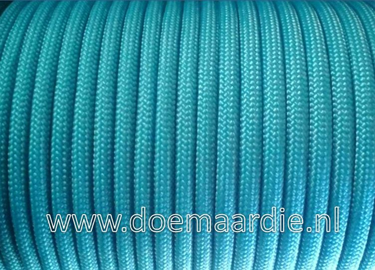 Paracord, 100, type l, Neon Turquoise, 6 / 15 / 30 meter.