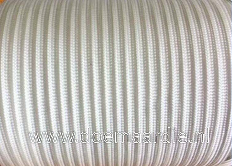 Paracord, 100 type l, Wit, 6 / 15 / 30 meter