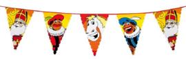 Sint en Piet vlaglijn - 6m lang en 45cm hoog