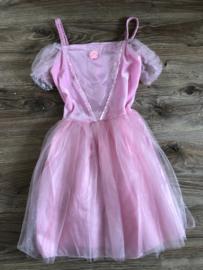 Prinsessenjurkje roze - 6-8 jaar