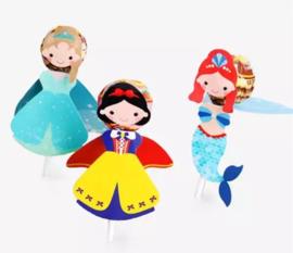 Prinsessen lollyhouders