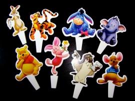Winnie de Pooh cocktailprikker - optie 1