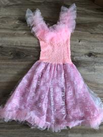 Prinsessenjurkje roze - 6 jaar